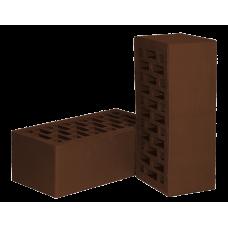 Лицевой кирпич, «НЗКМ», полуторный, цвет шоколад