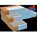 Сетка Базальтовая кладочная, ячейка, 25х25