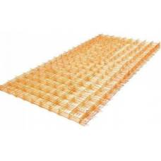 Сетка стеклопластиковая в картах ячейка 200х200-3 мм
