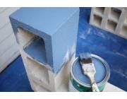 Чем покрасить газосиликатные блоки