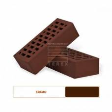 """Лицевой кирпич, """"Терекс"""", Одинарный, цвет какао, шоколад"""