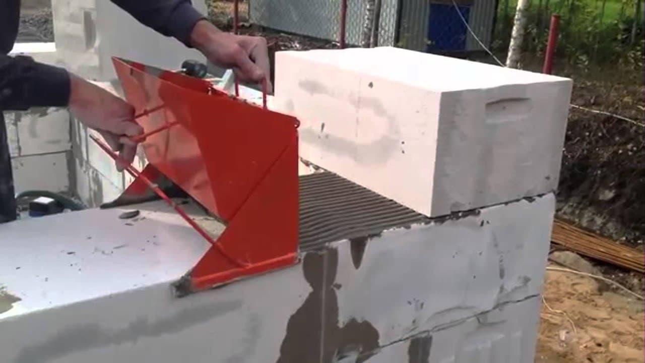 Расход клея для газосиликатных блоков